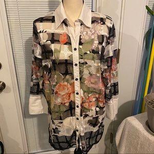 mishca mesh long sleeve shirt